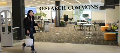 Research Commons entrance