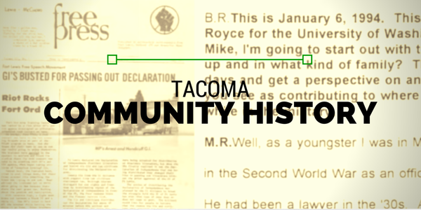 Tacoma Community History Project
