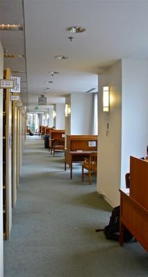 Allen Library South Carrels B