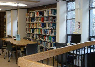 Mathematics Research Library 2nd Floor North Study Area