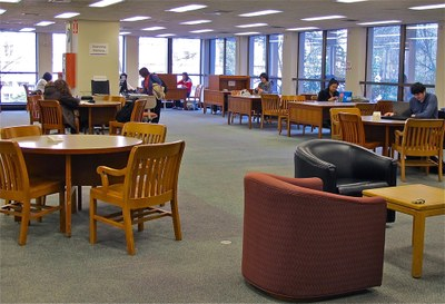 Suzzallo 1st Floor Study Area B