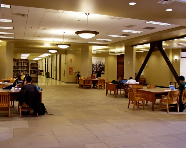 Suzzallo 3rd Floor Octagon Study Area B