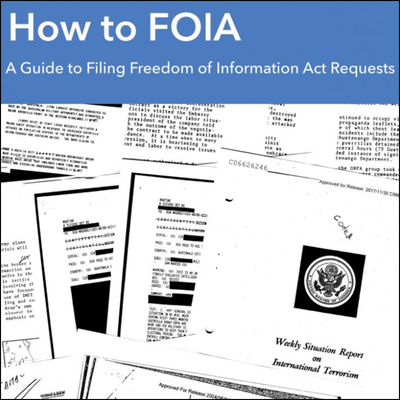 Guide to FOIA