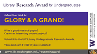 Undergraduate Library Research Award