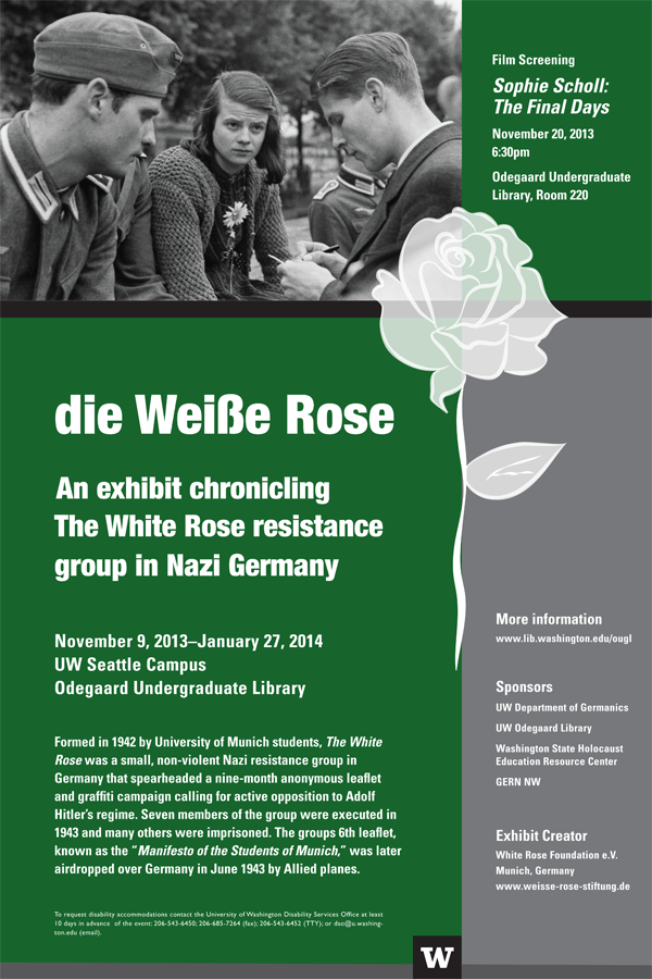 The White Rose Exhibit