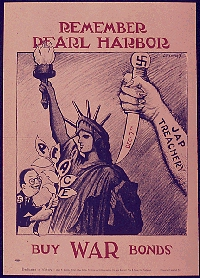 Poster for american propaganda against the Axis of Evil
