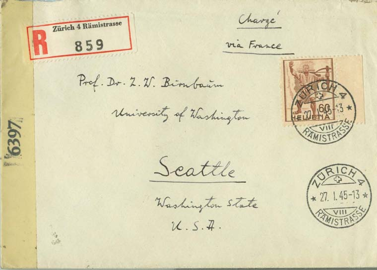 XI.2.1947 envelope