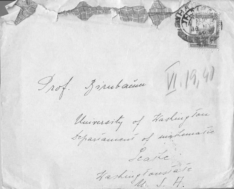 V.10.1940 envelope