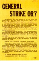 Leaflet, Industrial Workers of the World, Seattle Office, Records.Industrial Workers of the World, Acc. 544, Box 3, UW Libraries